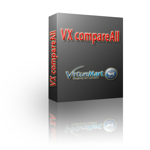 VX compareAll Product Comparison for Virtuemart